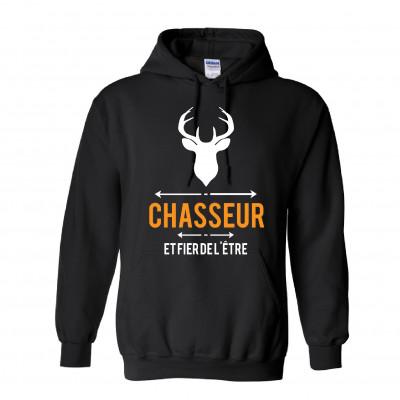 """Chandail Modèle """"Chasseur & Fier de l'être"""""""