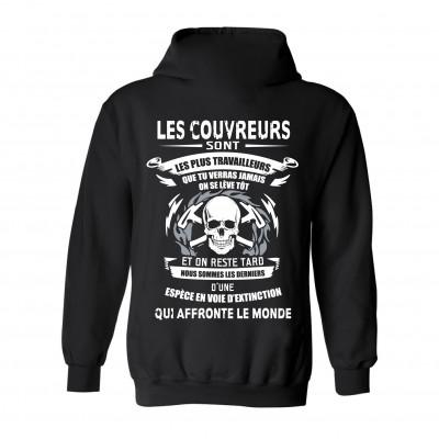 """Coton ouaté modèle """"Couvreur"""""""