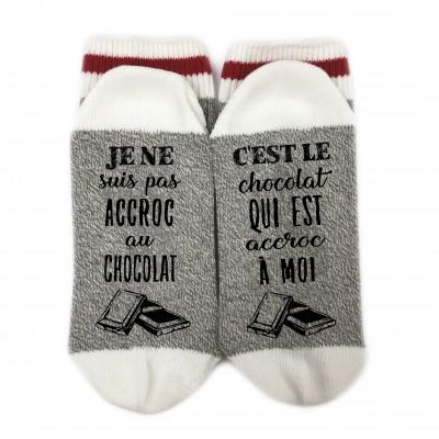 Bas de Laine - Accroc chocolat