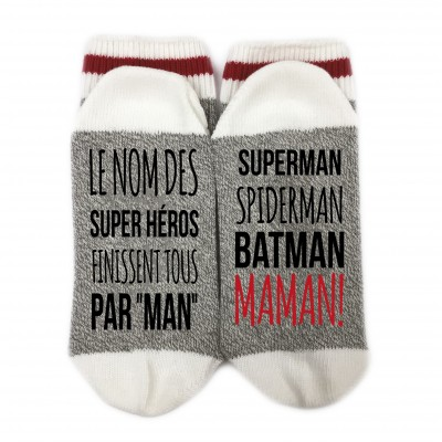 Bas de Laine - Super héros