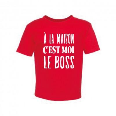 "T-Shirt Enfant ""Le Boss"""