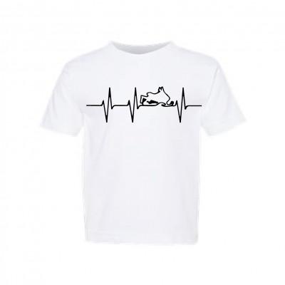 "T-Shirt Enfant ""Rythme Motoneige"""