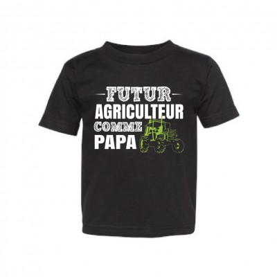 """T-Shirt Enfant """"Futur agriculteur"""""""