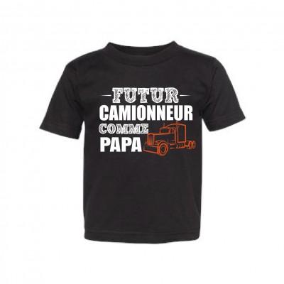 """T-Shirt Enfant """"Futur camionneur"""""""