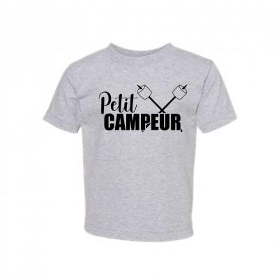 """T-Shirt Enfant """"Petit Campeur"""""""
