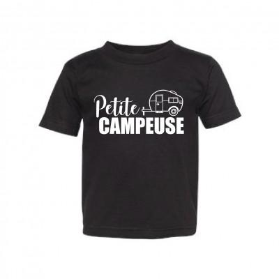 """T-Shirt Enfant """"Petite Campeuse"""""""