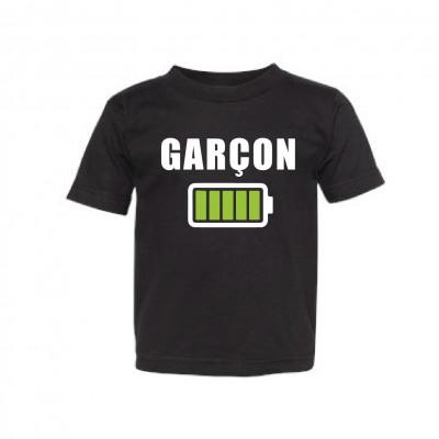 "T-Shirt Enfant ""Batterie Garçon"""