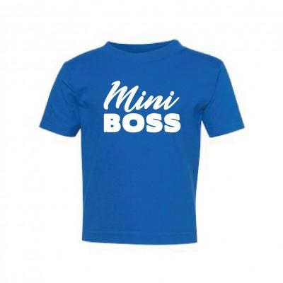 """T-Shirt Enfant """"Mini Boss"""""""