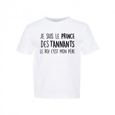 """T-Shirt Enfant """"Prince des tannants"""""""